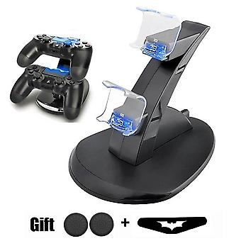 Ps4-game Controller-charger Dual Charging-port Led-indicator Charging