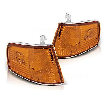 LAMPEGGIANTE LIGHTS HONDA CRX 90-02 92 AMBER