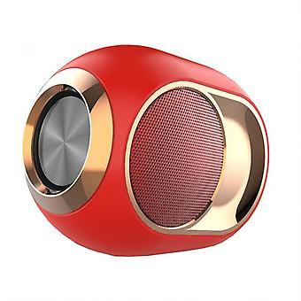 Přenosný reproduktor Bluetooth-5.0 bezdrátový hlasitý reproduktor superbasový hudební stereofonní reproduktor pro telefon / pc