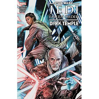 Star Wars Jedi Fallen Order  Dark Temple by Matthew Rosenberg & Illustrated by Paolo Villanelli