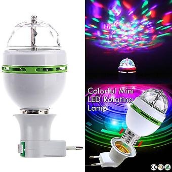 Portable Multi Led Bulb Mini Laser Projector Dj Disco Stage Light Xmas Party