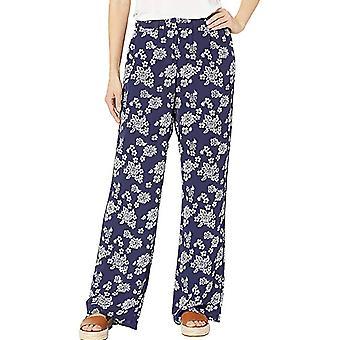 Michael Kors | Floral-Print Pull-On Pants