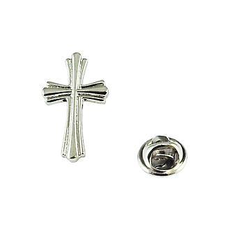 Ties Planet High Gedetailleerde sierlijke christelijke Cross Revers Penn badge