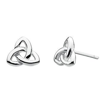 Heritage Sterling Silver Celtic Trinity Knot Stud Boucles d'oreilles 4272HP
