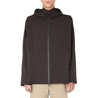 Bottega Veneta 634083vf4k02113 Heren's Brown Nylon Outerwear Jacket