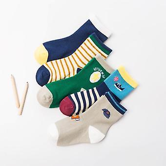 Szép biztonságos kényelem zokni, gyerekek fiú pamut puha
