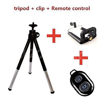 Mini Bluetooth Tripod Forwith Remoteand  Extendable Stand For Smartphones