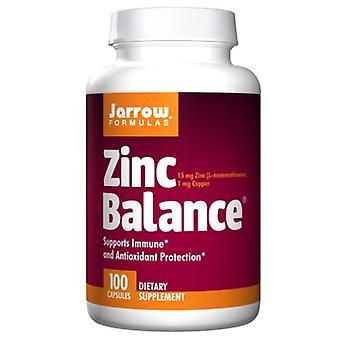 Jarrow Formler Zink Balans, 15 mg, 100 Kapsyler