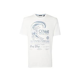 O'Neill Men's Originale Bio-Baumwolle T-Shirt - Druck Pulver