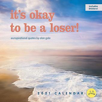 Unspirational 2021 Wall Calendar by Gale & Elan