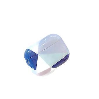 Airpods برو الجلد مع الأشكال الهندسية والألوان