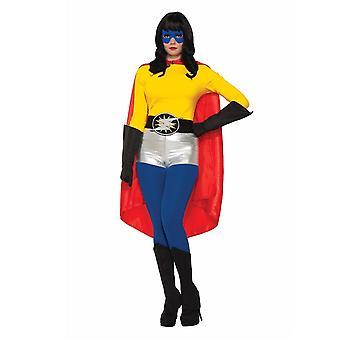 Forum Novità Halloween Fancy Dress Accessori - Adulto Unisex - Hero Cape - Colori Assortiti