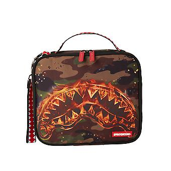 Sprayground Fire Shark Snack Pack - Camo