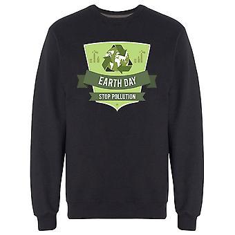 وقف التلوث Sweatshirt الرجال & apos;s -الصورة من قبل Shutterstock