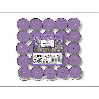Prices Aladino Tealights Lavender x 25 021937D