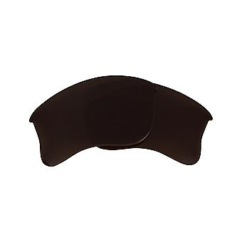 Polarized Replacement Lenses for Oakley Half Jacket 2.0 Frame Anti-Scratch Brown