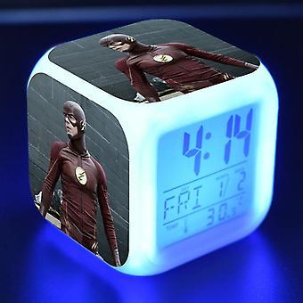 Colorful Multifunctional LED Children's Alarm Clock -The Flash Season 4 #20