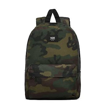 Vans New Skool Backpack Camo Green