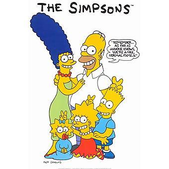 O Poster do filme dos Simpsons (11 x 17)