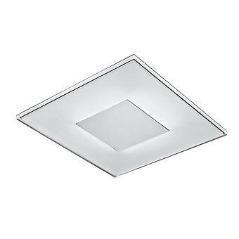 Italux Maud - Moderne LED Flush Plafond Blanc clair, Blanc Chaud 3000K 400lm