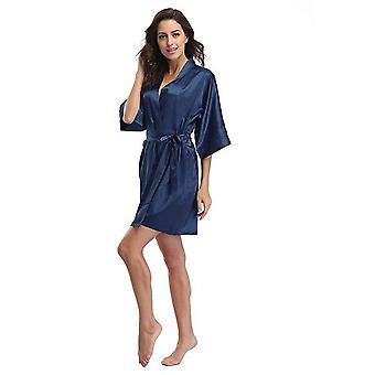 Femmes & s Satin Mariage Kimono Robe robe de nuit Peignoir Nightgown