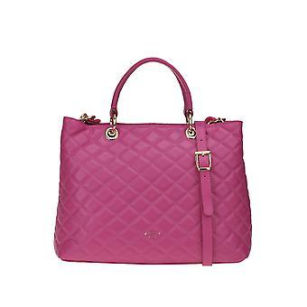 Avenue 67 Ezgl435002 Kvinnor's Fuchsia läder handväska