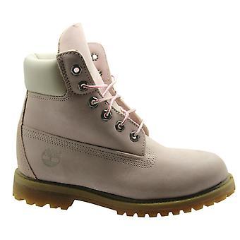 Timberland EarthKeepers 6 tommers Premium dame støvler rosa vanntett 8716R B48D