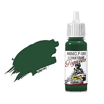 Ammo by Mig Figure Paints F-509 Uniform Green Base FS-34128