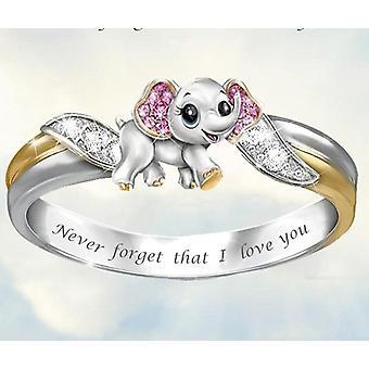 & نقلا عن أبدا ننسى أنا أحبك واقتباس خاتم الخطوبة