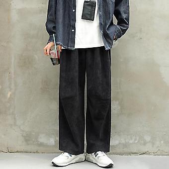 Άνδρες ευρύ παντελόνι ποδιών, Streetwear εσώρουχα, casual joggers παντελόνι