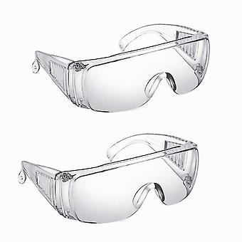 نظارات السلامة أقنعة الغبار واقية من الغبار شفافة مختبر رشاش نظارات العمل