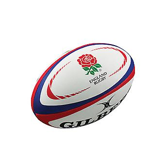 Gilbert England Replica Rugby Union Supporter Rugby Ball Mini