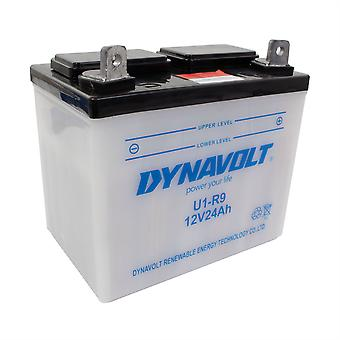 Dynavolt UIR9 Conventional Dry Charge Battery With Acid Pack