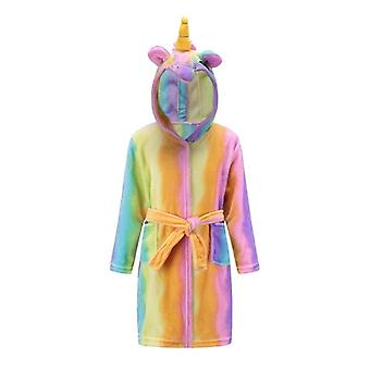 Girls Unicorn Dressing Gown Robe
