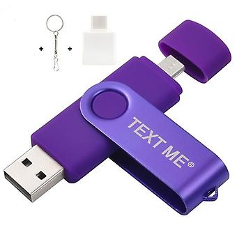 3-in-1, Type-c, Usb Flash Pen Drive For Computer & Phone