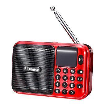 5V 3W Portable USB Radio FM MP3 Memory Card U-disk Speaker Player