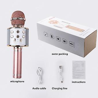 Professional Bluetooth Wireless Microphone Handheld Karaoke Mic