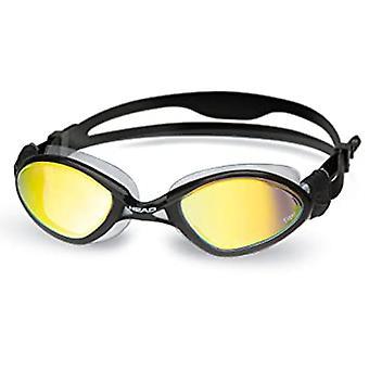 النمر رئيس منتصف سباق سباحة حملق-الدخان العدسات ذات النسخ المتطابقة-أسود
