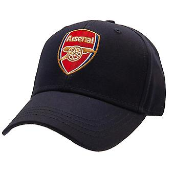 Arsenal FC Unisex Aikuisten Crest Baseball Lippis