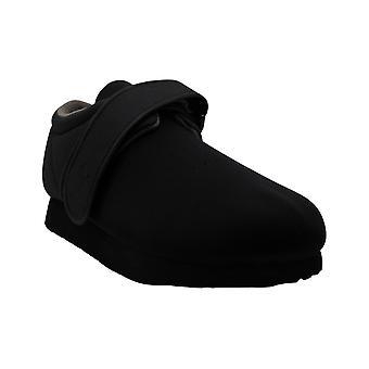 Apex Women&s Ambulator Stretchables Pojedynczy pasek Slip On, Black Stretch Fabric, USA