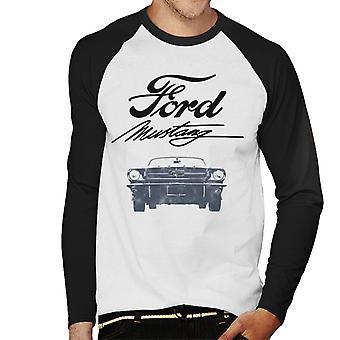 Ford Mustang Signature Miesten's Baseball Pitkähihainen T-paita