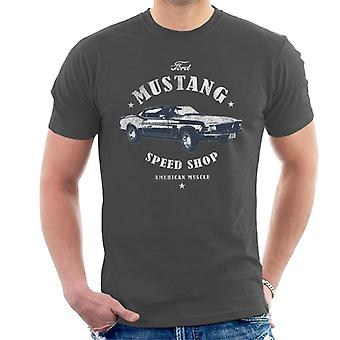Ford Mustang Speed Shop Men''s T-Shirt
