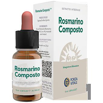 Forza Vitale Compound Rosemary Lead Spagyric Metal 10 ml