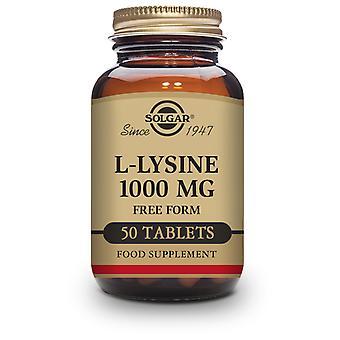 Solgar L-Lysiini 1000 mg Komprimés