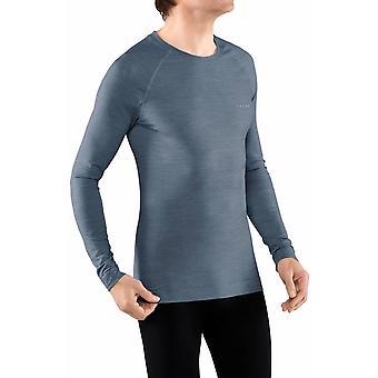 Falke Wool-Tech Light Regular Fit Chemise à manches longues - Captain Blue