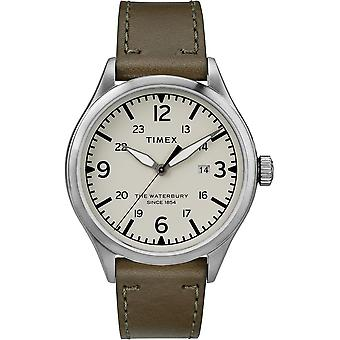 Timex The Waterbury Leather Mens Watch TW2R71100