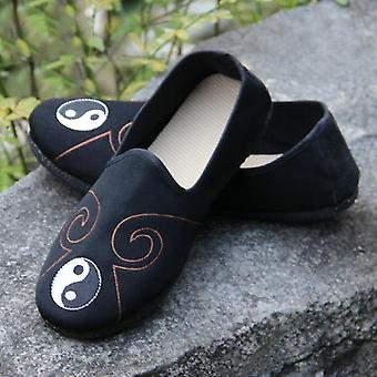 Rubber zool katoen, Taoist Tai Chi, Kung Fu schoenen