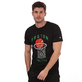 Menn'Ny epoke Basketball BC T-skjorte i svart