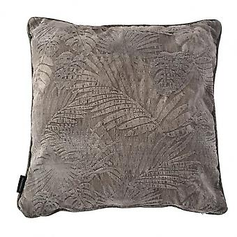 almofada Sofia 60 x 60 cm cinza viscose