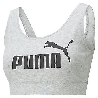 Puma Womens ESS Bra Crop Vest Sleeveless Fitness Workout Training Top